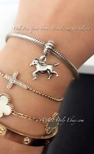 Authentic Pandora Sterling Silver Free Spirit Horse Dangle Charm #791099
