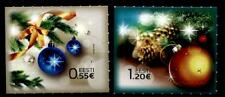 Weihnachten. Weihnachtsbaum, Kugeln. 2W. Estland 2014