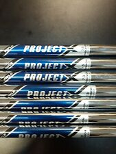 * Pulled Project X 7.0 Steel Stiff .355 Tapered Tip Shafts 4-PW*