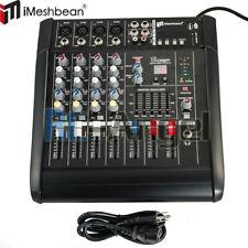 2000W Watt 4 Channel Professional Powered Mixer power Mixing Amplifier Amp