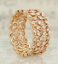 Band Natural Rose Gold Fine Diamond Rings
