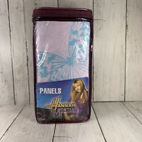 Hannah Montana Curtains Pair 82 x 63 Daisy Patch Drapes New Disney Channel