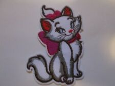 DISNEY MARIE CAT EMBROIDERED PATCH SEW/IRON ON BRAND NEW~USA SELLER~