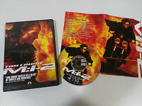 MISSION IMPOSSIBLE M:I:2 DVD + EXTRAS TOM CRUISE ENGLISH FRANCAIS REGION 1