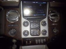 """2014 FORD F350SD PICKUP A/V Equipment receiver, 8"""" touch screen, AM-FM-CD-MP3"""