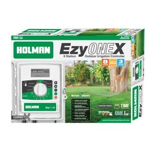 Holman EzyOne X 8 Station Irrigation Controller, Water Saver Feature