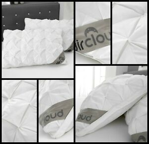 New Luxury Waffle Pintuck Alexandra Pillow 48 x 74 cm +2.5 cm 100% Cotton 300TC