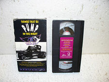 Aerosmith : Things That Go Pump in the Night VHS Video Out Of Print