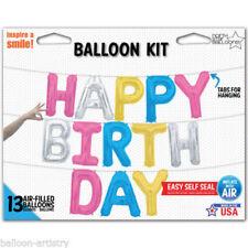 Letter 10-50 Party Foil Balloons