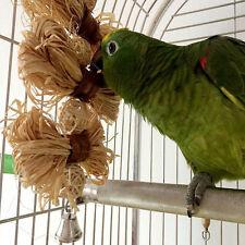 Animal De Compagnie Oiseau Bouchées JOUET PERROQUET Chew balle Balance Cage