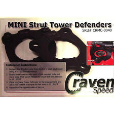 CravenSpeed Strut Tower Defenders for Gen1 MINI Cooper S 2002-2006 R53 CRMC-0040