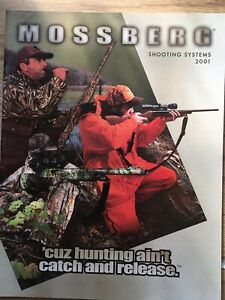 Mossberg Shooting Systems 2001 Firearms Catalog