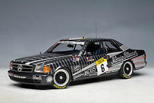 1:18 AutoArt Mercedes Benz 500SEC AMG SPA #6 Ludwig for