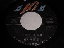 Ann Peebles: I Pity The Fool / Heartaches, Heartaches 45 - Soul