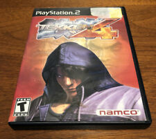 Tekken 4 (Sony PlayStation 2, 2002) Tested And Working - No Manual
