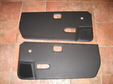New Pair of Door Panels for Triumph Spitfire 1971-1980 Black Made in the UK
