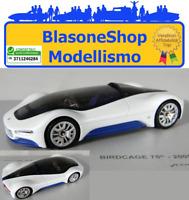 Maserati Birdcage Pininfarina Concept 2005 White 1:43 Miniminiera Auto Modellino