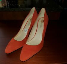 Nine West Womens Red Suede Pumps Size 12. New