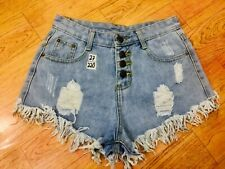 Denim Short High Waist Ukay Ukay