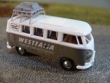1/87 Brekina # 1725 VW T1 b Camper Westfalia weiß/grau Sondermodell