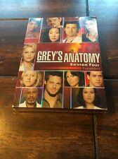 Grey's Anatomy - The Complete Fourth Season (DVD, 2008, 5-Disc Set)