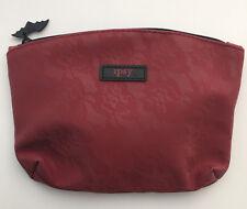Ipsy October 2017 Spellbound Burgundy Lace and Black Glam Bag Makeup Bag Only