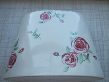 ROYAL DOULTON ROSE CLOUDS LARGE TALL OBLONG PRETTY FLOWER ORNAMENT VASE 2004