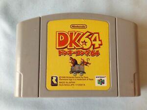nintendo 64 game titled donkey kong
