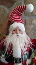 """NWT RAZ 14"""" SANTA with Presents & Candy Canes Christmas FIGURE Prop Display"""