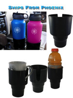 Universal Car Cup Holder Adapter, Fits Hydro Flask Yeti and other Bottles
