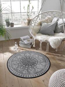 Ab Lager wash+dry Fußmatte Teppich Rotondo ca.145cm rund waschbar