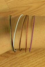 ## HAND MADE ## STAINLESS STEEL COATED BRACELET SETS.