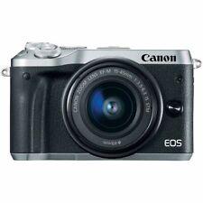 Canon EOS m6 con ef-m 15-45mm is STM objetivamente B-Ware del distribuidor m6 plata