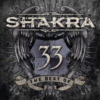 SHAKRA - 33-THE BEST OF 2 CD NEU