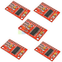5pcs Dual Channels 3W PAM8403 Class Audio Amplifier USB 5V Power Supply Arduino