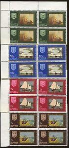4 Stamp Sets 1968 Maldive Islands 262-265 Sail & Fishing Boats Venice Lagoon
