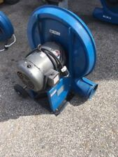 Kongskilde TRL 100 Grain Feed Fan Blower  10 hp motor on wheels  Nice shape
