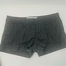 American Rag Womens Black/White Polka Dot Four Pocket Shorts Size 0