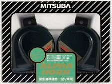 Mitsuba ALPHA HORNS MBW-2E11G Car Horn made in Japan w/Tracking