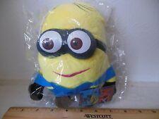 "7"" Despicable Me Minion Plush Toy Minions 18cm Stuffed Doll Dave Gift"