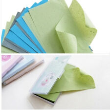 Oil control blotting paper oil absorbing sheets pads facial tissues paper