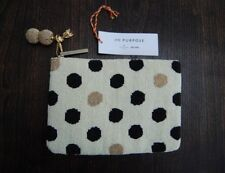 Kate Spade On Purpose beaded clutch bag polka dot design $198 price tag new with