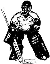 Wood Mounted Rubber Stamps, Sports Stamps, Ice Hockey, Sports Teams, Goalie