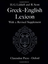 A Greek-English Lexicon, Henry G. Liddell, Robert Scott, Very Good condition, Bo