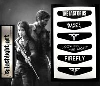 THE LAST OF US 2 PS4 Controller Light Bar 6x Vinyl Sticker Decal PlayStation 4