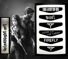THE LAST OF US PS4 Controller Light Bar 6x Vinyl Sticker Decal PlayStation 4