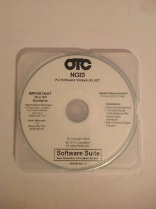 OTC GENISYS NGIS SOFTWARE ---VERSION 63.307---PREOWNED