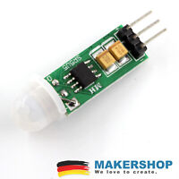 Mini PIR Bewegungsmelder Infrarot IR SR505 Sensor Modul Arduino