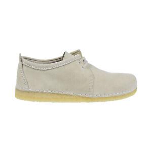 Clarks Originals Ashton Men's Shoes Off White Suede 26139191