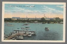 [50867] OLD POSTCARD ROYAL POINCIANA HOTEL in PALM BEACH, FLORIDA